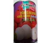 Twin Elephants Lychees In Syrup 565g