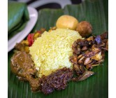 lumprice with Chicken Goat and Lamb (Sunday)