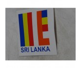Sticker Buddhist Flag