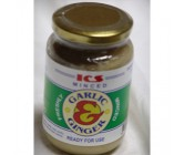 ICS Minced Garlic _ Ginger 350GM