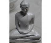 Load Buddha Statues Medium White